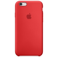 Чехол Apple Silicone Case для iPhone 6S (PRODUCT) RED