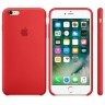 Чехол Apple Silicone Case для iPhone 6S (PRODUCT) RED -