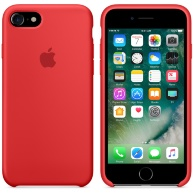 Чехол Apple Silicone Case для iPhone 7/8 (PRODUCT) RED