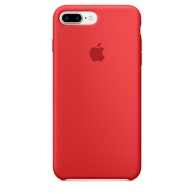 Чехол Apple Silicone Case для iPhone 7 Plus (PRODUCT) RED