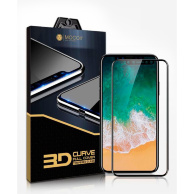 Mocoll 3D Full Cover Simple Black Diamond для iPhone X - Защитное стекло