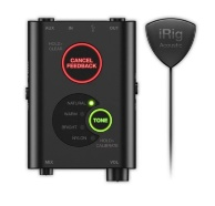IK Multimedia iRig Acoustic Stage - Микрофонная система для гитары/аудиоинтерфейс для iOS, Android, Mac и PC
