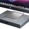 Настольная полка Just Mobile Drawer для iMac, Cinema Display и других мониторов -