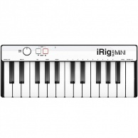 IK Multimedia iRig Keys MINI - MIDI клавиатура для iPhone, iPad, Android и Mac/PC