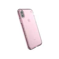 Speck Presidio Clear + Glitter for iPhone Xs/X