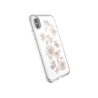 Speck Presidio Clear + Print for iPhone Xs/X