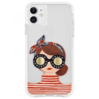 Case-Mate case for iPhone 11 Riffle Paper - Gorgeous Girl