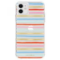 Case-Mate case for iPhone 11 Rifle Paper - Happy Stripes