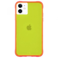 Case-Mate case for iPhone 11 Tough NEON - Yellow Neon