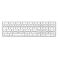 Satechi Aluminum Bluetooth Wireless Keyboard with Numeric Keypad RU